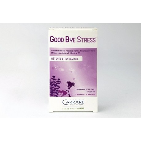GOOD BYE STRESS - LABORATOIRES CARRARE