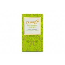 THE PUKKA LEMON GRASS ET GINGER 20 SACHETS