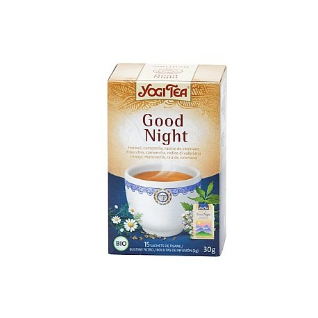 YOGI TEA TISANE GOOD NIGHT - KALISTERRA