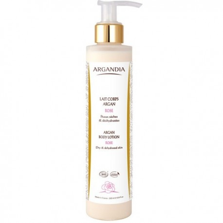 LAIT CORPS ARGAN ROSE 200 ML ARGANDIA