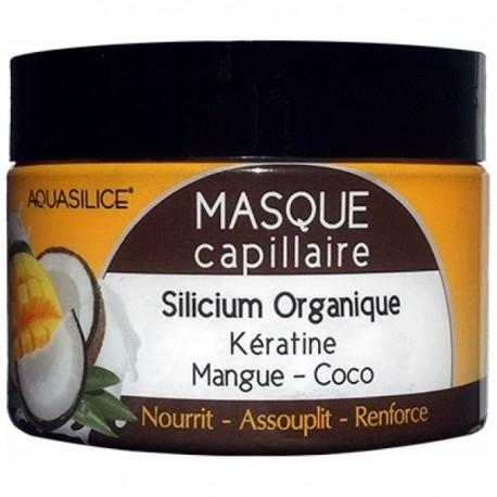 MASQUE CAPILLAIRE MANGUE COCO - AQUASILICE