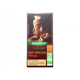 CHOCOLAT NOIR SELECTION PEROU BONNETERRE