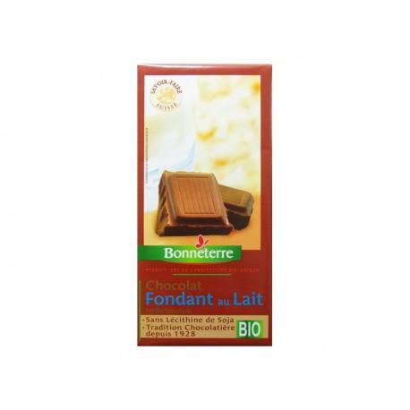 CHOCOLAT FONDANT AU LAIT BIO BONNETERRE