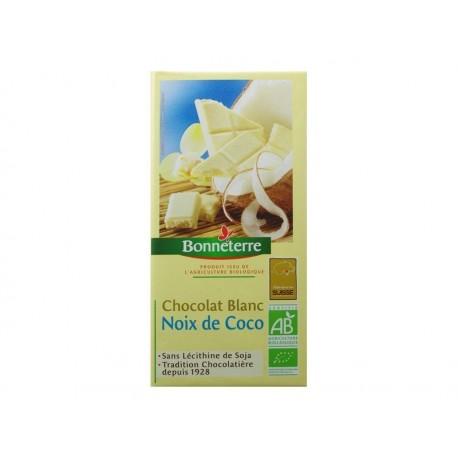 CHOCOLAT BLANC NOIX COCO BONNETERRE